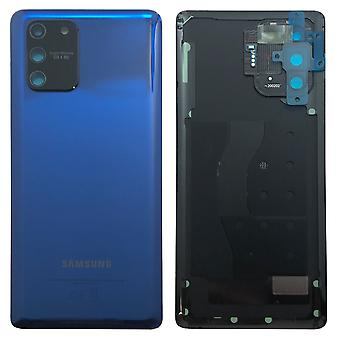 Samsung GH82-21670C Battery Cover Cover for Galaxy S10 Lite G770F + Glue Pad Prism Blue Blue