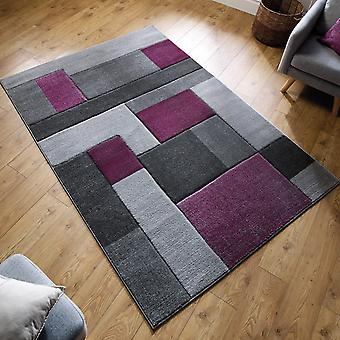 Cosmos Rugs In Purple And Grey