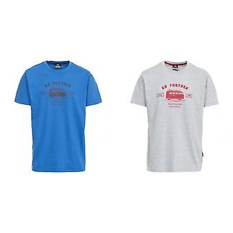 Hausfriedensbruch Mens Raum Kurzarm T-Shirt