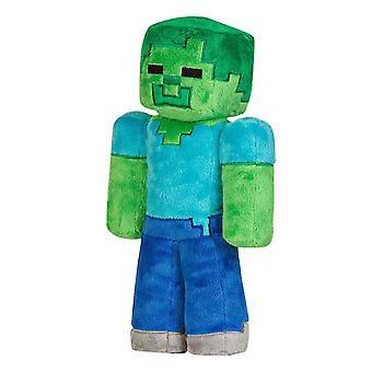 Minecraft, Knuffeldier/pluche speelgoed-Zombie 30 cm