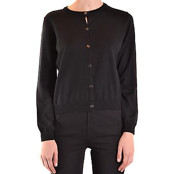 Boutique Moschino Ezbc170029 Women's Black Wool Cardigan