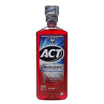 Act alkohol fri anticavity fluor mundskyl, kanel, 18 ounce