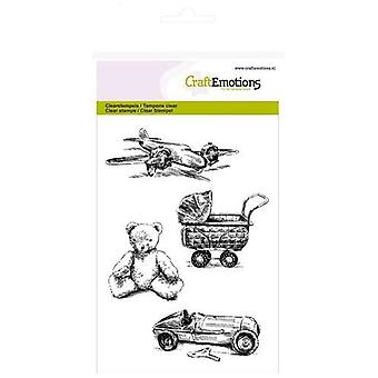 CraftEmotions Clear Stamps A6 - jouets vintage Lovely Baby