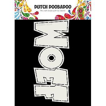 Niederländische Doobadoo Karte Kunst WOEF 210x90mm 470.713.726