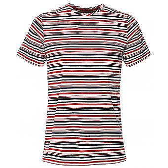 Oliver Spencer Crew Neck Striped Conduit T-Shirt