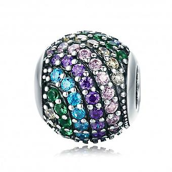 Sterling Silver Charm Rainbow - 5711
