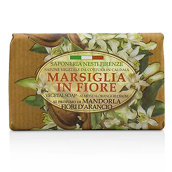 Marsiglia in fiore vegetal soap almond & orange bloosom 221054 125g/4.3oz