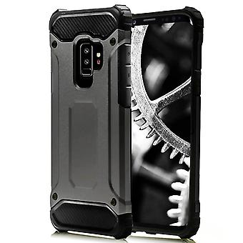Shell for Samsung Galaxy S9 Plus Grey Armor Protection Case Hard