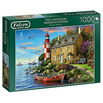 Falcon De Luxe Puzzel - The Lighthouse Keeper's Cottage, 1000 Piece