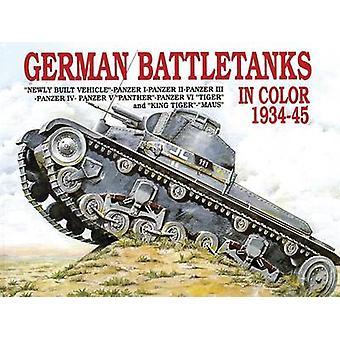 Deutsche Kampfpanzer in Farbe von Horst Scheibert - 9780887402081 Buch