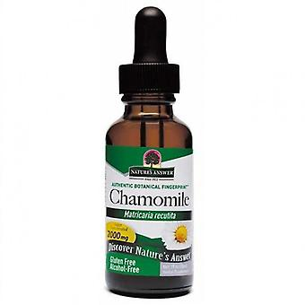Nature's Answer Chamomile Flowers 30ml 1347