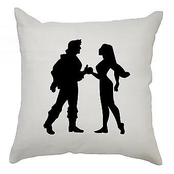 Silhouette Cushion Cover 40cm x 40cm Pocahontas
