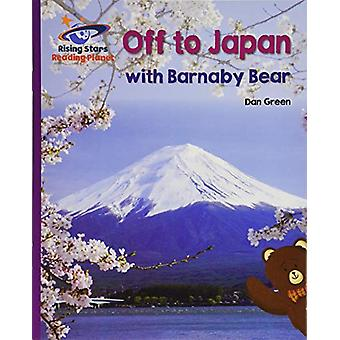 Reading Planet - Off to Japan with Barnaby Bear - Purple - Galaxy by G