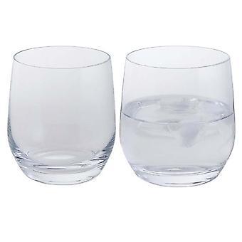 Dartington Kristall Wein und Bar Tumbler Paar