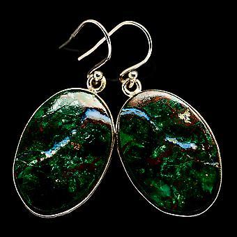 Chrysocolla Earrings 1 5/8