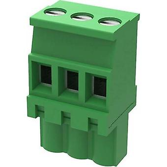 Degson Pin kapsling - kabel 2EDGKB Totalt antal stift 6 Kontaktavstånd: 5 mm 2EDGKB-5.0-06P-14-1000AH-1 1 st(s)