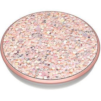 POPSOCKETS Sparkle Rose Mobile phone stand Rose, Glitter effect