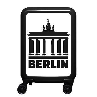 meinTrolley Berlin S, 4 rouleaux, 55 cm, 32 L, Noir