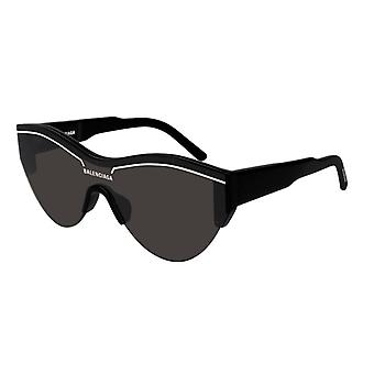 Balenciaga BB0004S 001 Black/Grey Sunglasses