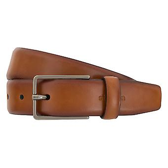 Strellson belts men's belts leather belt Cognac 1970