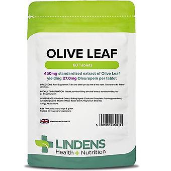 Lindens Olive Leaf (27mg oleuropein) Tabletit 60 (212)