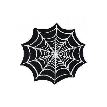 Attitude Clothing Spider Web Large Woven Patch