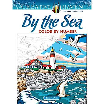 Creative Haven By the Sea Color by Number by George Toufexis - 978048