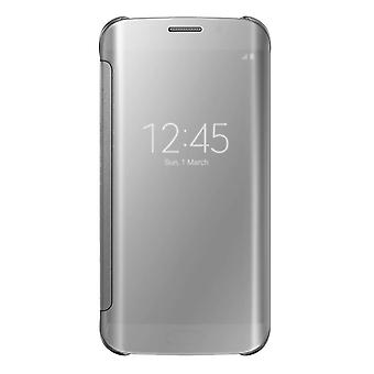Samsung Galaxy S7 S8 S9 S9+ Mirror Flip Case Cover Wallet With Built In Chip