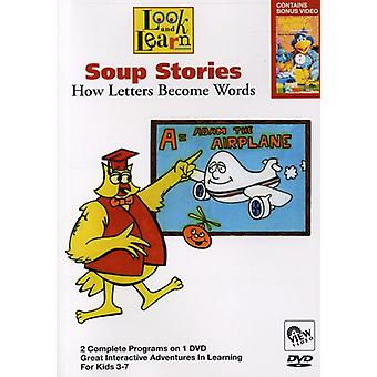 Soup Stories-How Letters Become Words [DVD] USA import