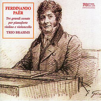 Ferdinando Paër - Tre Grandi Sonate [CD] USA import