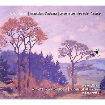 Impressions D'Ardennes/Cello Concerto/Fantasie [CD] USA import