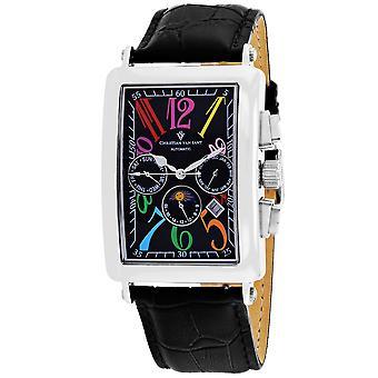 Christian Van Sant Men's Prodigy Black Dial Uhr - CV9132