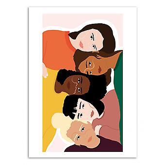 Art-Poster - Sorority - Celeste Wallaert