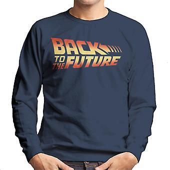 Back To The Future Classic Logo Men's Sweatshirt