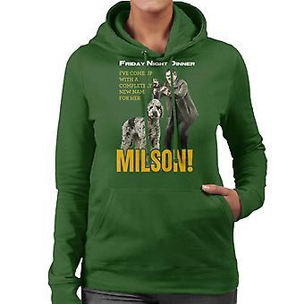 Friday Night Dinner Naming Milson Women's Hooded Sweatshirt