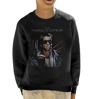 Terminator nödställda Movie poster sköt barnens tröja