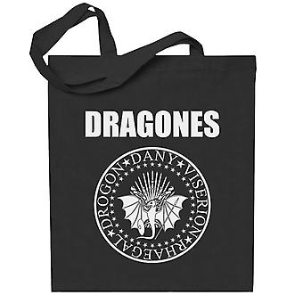 Dragones Ramones Game Of Thrones Totebag