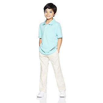 Essentials Toddler Boys' Straight Leg Flat Front Uniform Chino Pant, L...