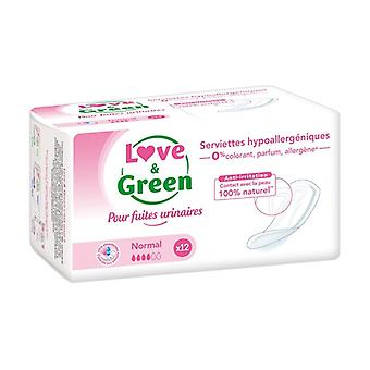 "Hypoallergenic towels ""Normal"" incontinence 12 units"