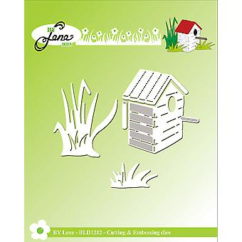 By Lene Birdhouse & Grass Cutting & Embossing Dies