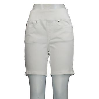 Belle by Kim Gravel Women's Shorts Flexibelle White A351268