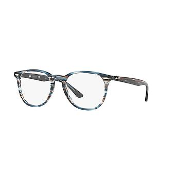 Ray-Ban RB7159 5750 Blue Grey Stripped Glasses