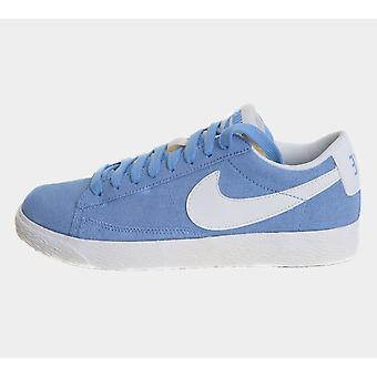 Nike Wmns Blazer Låg Cnvs 579760 400 Ljusblå Kvinnors Skor Stövlar
