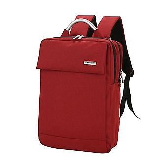 New type double shoulder multi function notebook bag