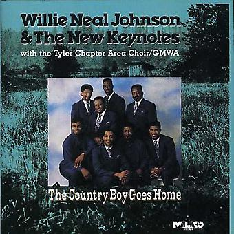 Johnson, Willie Neal & New Keyn - Country Boy Goes Home [CD] USA import