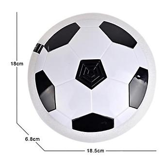 18cm Hovering Football Mini Toy Ball Air Cushion Suspended Flashing Indoor Outdoor Sports Fun Soccer Educational Kids Toys