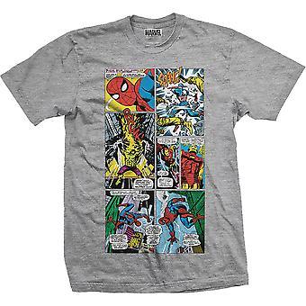 Marvel Comics Panels Official Tee T-Shirt Unisex