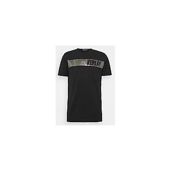 Replay Round Neck Black T-shirt