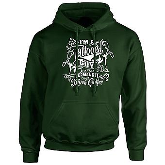 I'm a Tattooed Guy Except Much Cooler Unisex Hoodie 10 Colours (S-5XL) by swagwear