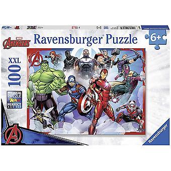 Ravensburger Marvel Avengers - 100 peças Jigsaw Puzzle com Peças Extra Grandes
